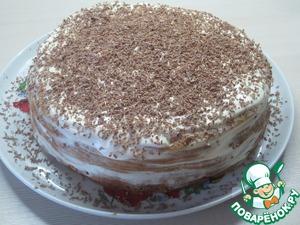 Рецепт Медовый сметанный торт