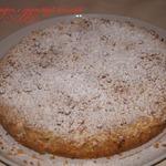 Малиновый пирог с хрустящей посыпкой