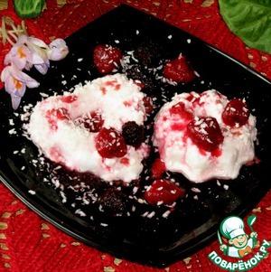 Рецепт Десерт с рикоттой и кокосом