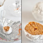 Постные конфеты из белой фасоли и сухофруктов