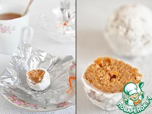 Рецепт Постные конфеты из белой фасоли и сухофруктов