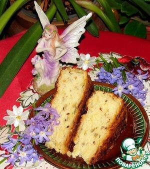 Рецепт Булка с рикоттой и сыром