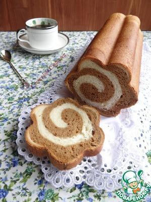 """Рецепт Сладкий хлеб """"Кофе с молоком"""""""