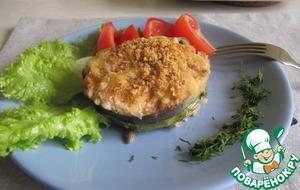 Рецепт Медальоны из лосося с рисом и грибами