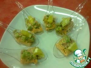 Рецепт Канапе в сливочном соусе