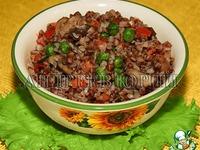 Гречка с овощами из духовки ингредиенты