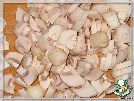Салат с корейской морковью и грибами домашний рецепт с фото как приготовить #1