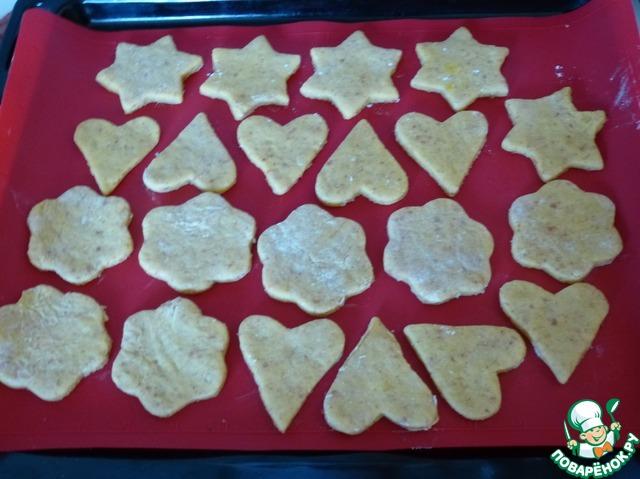 Печенье песочное со сметаной рецепт с фото пошагово