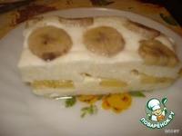 Творожная запеканка с бананами ингредиенты