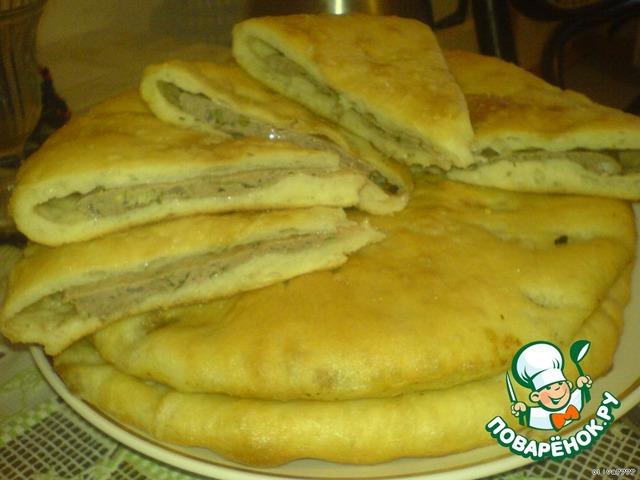 Осетинские пироги с капустой и сыром рецепт с пошагово 103