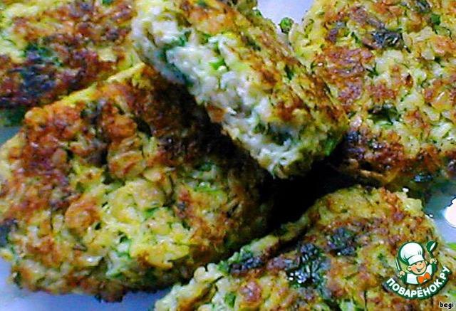 кабачковые оладьи рецепт правильного питания