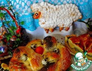 Готовим Пасхальный итальянский барашек простой рецепт с фотографиями