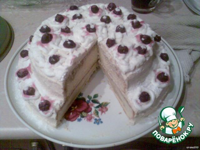 Рецепт торта зимняя вишня в домашних условиях 78