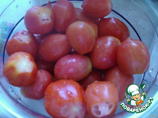 Готовим из фарша и помидор
