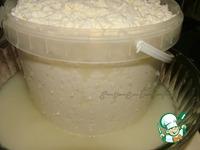 Домашний твердый сыр ингредиенты
