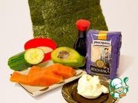 Домашние роллы и маки ингредиенты