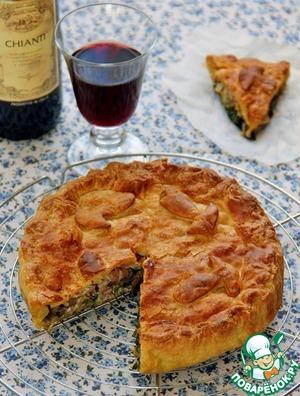 Рецепт Пирог по-флорентийски