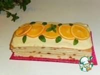 Тирамису с апельсиновым кремом ингредиенты