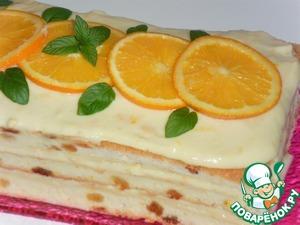 Рецепт Тирамису с апельсиновым кремом