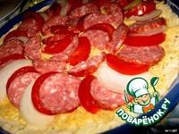"""Лучшая пицца """"А-ля пепперони и двойной сыр"""" ингредиенты"""