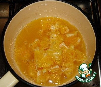 """Как готовить рецепт приготовления с фото Суфле """"Апельсины в снегу"""" #3"""