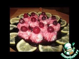 Скандинавский десерт из риса с ягодами