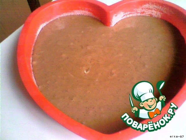 """Как приготовить простой рецепт с фото Торт """"Сердешный друг"""" #4"""