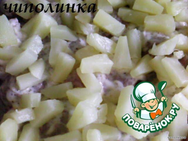 Как приготовить Телятина под ананасами простой рецепт с фотографиями пошагово #3