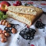 Греческая пастушья лепешка с луком