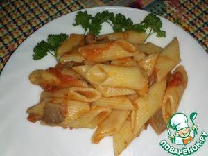 Рецепт Паста с домашним итальянским соусом
