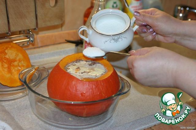 Как приготовить Тыквенная  каша вкусный пошаговый рецепт с фотографиями #11