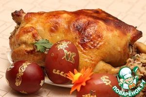 Рецепт Курица праздничная