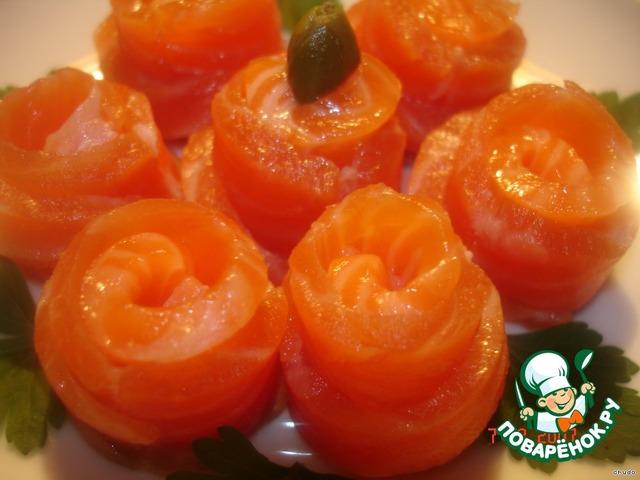Как приготовить Форель слабосоленая вкусный рецепт с фотографиями пошагово #1