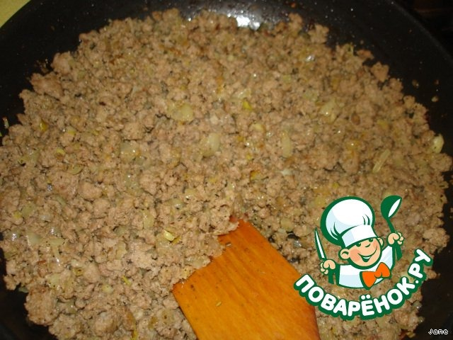 Пирог с мясом на дрожжевом тесте простой рецепт приготовления с фото готовим #10