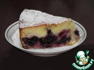 Рецепт Фруктово-ягодный пирог на кефире