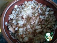 Нежный пирог с яблочным повидлом ингредиенты