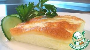 Рецепт Белковый запеченный омлет со сметаной