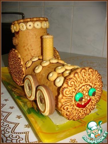 Торт своими руками из печенья