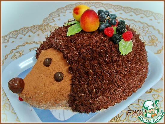 Ежик торты рецепты в домашних условиях