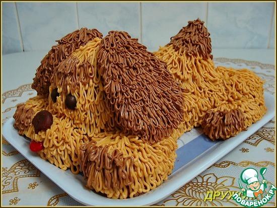 Торт для собаки рецепт с фото