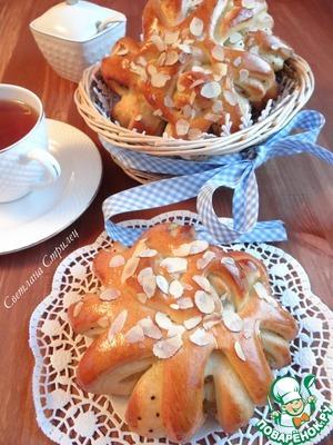 Рецепт Булочки с джемом из киви