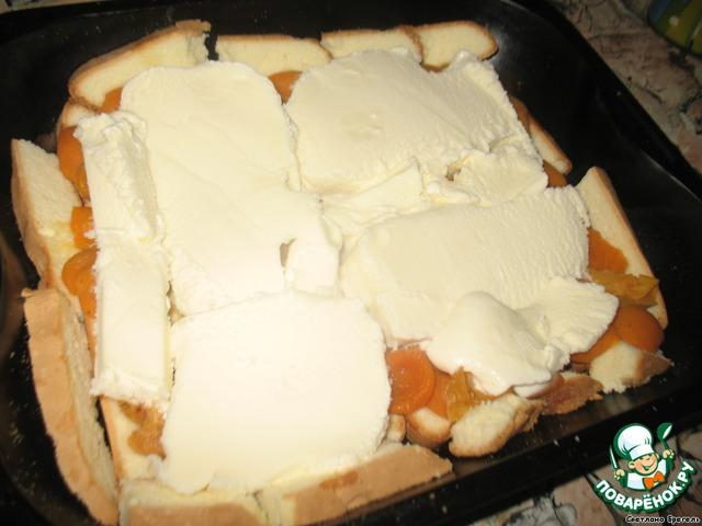 Торт-мороженное Сюрприз (рецепт  из журнала Работница)