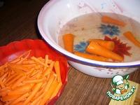 Морковь консервированная ингредиенты