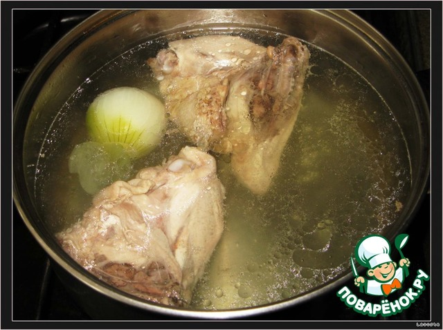 Приготовить куриный бульон рецепт фото