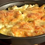 Запеканка молочно-картофельная с телятиной