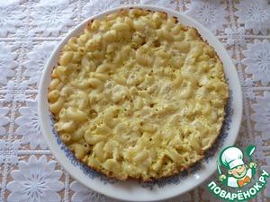 Рецепт Запеканка из макарон и творога в мультиварке