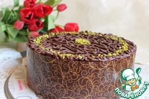 Рецепт Торт шоколадно-банановый