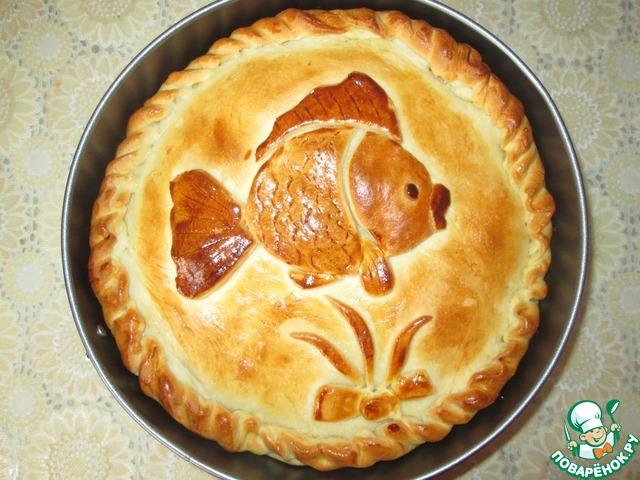 Рецепты рыбного пирога из дрожжевого теста с пошагово