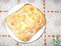 """Пицца """"Гавайская"""" ингредиенты"""