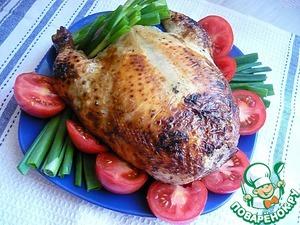 Рецепт Фаршированная курица без костей